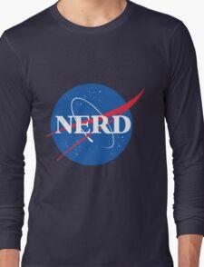 NERD - Nasa Logo Long Sleeve T-Shirt