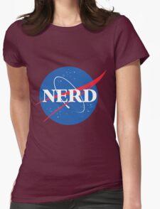 NERD - Nasa Logo Womens Fitted T-Shirt