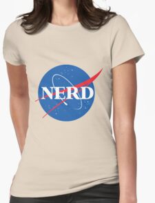 NERD - Nasa Logo Womens Fitted T-Shirt