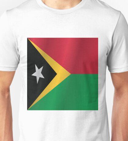East Timor flag Unisex T-Shirt