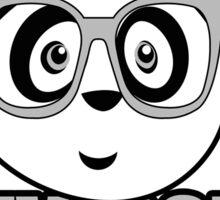 Panda University - Grey 2 Sticker