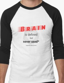 Brain is defined but never used - ESLint testing Men's Baseball ¾ T-Shirt