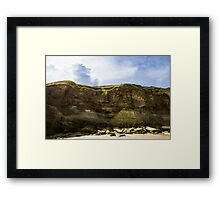 Border-North East Coast - A View Framed Print