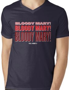 Bloody Bloody Mary Mens V-Neck T-Shirt