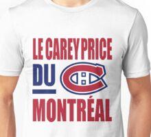 Le Carey Price du Montreal Unisex T-Shirt