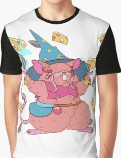 Ratling/Hamster Wizard Graphic T-Shirt