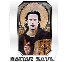 baltar saves Poster