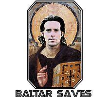 baltar saves Photographic Print