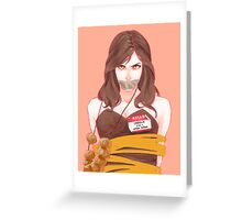 Carmilla Greeting Card