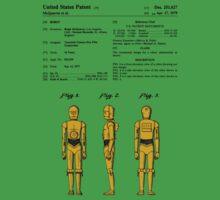 C3P0 Patent - Colour Kids Tee