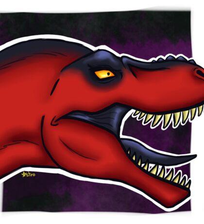 Red Rexie Sticker