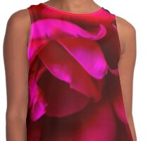 Drooping Rose in Darkness Contrast Tank