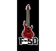 My Axe ESP LTD F-50 BCH Photographic Print