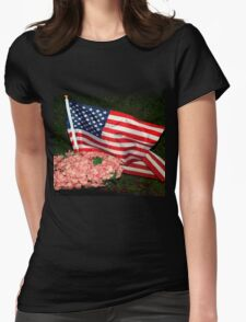 Memorial Womens Fitted T-Shirt