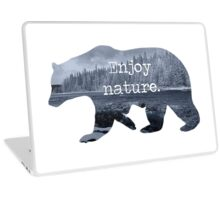 Enjoy nature.  Laptop Skin