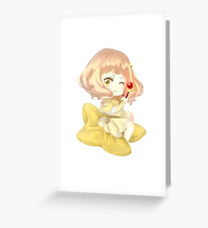 Mai - chibi  Greeting Card