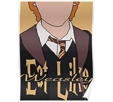 Eat Like Weasley Poster