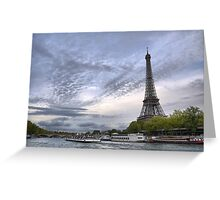 On the River Seine (1) Greeting Card