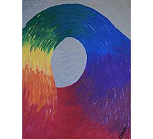 Through the Rainbow Loop Photographic Print