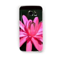 Large Pink Water Lily Samsung Galaxy Case/Skin