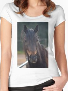 Harry pony Women's Fitted Scoop T-Shirt