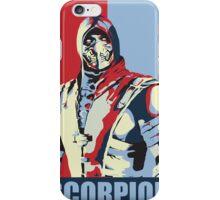 scorpion mkx hope iPhone Case/Skin