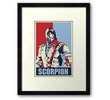 scorpion mkx hope Framed Print