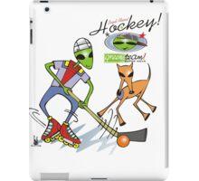 alien hockey iPad Case/Skin