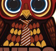 The Owl University Sticker
