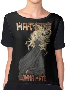River Song: Haters Gonna Hate Chiffon Top