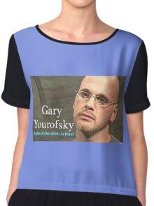 Gary Yourofsky  Chiffon Top