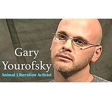 Gary Yourofsky  Photographic Print