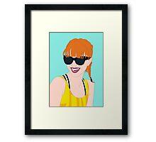 Hayley Williams Framed Print