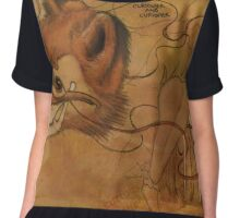Curious Mr.Fox Chiffon Top