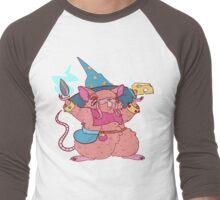Ratling/Hamster Wizard Men's Baseball ¾ T-Shirt