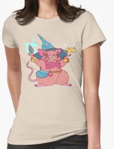 Ratling/Hamster Wizard Womens Fitted T-Shirt