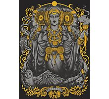 Iberian Hecate Gray Photographic Print