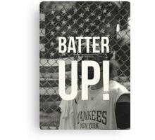 BATTER UP! Canvas Print