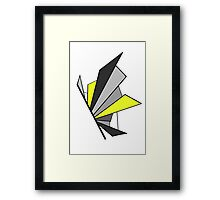 Shatterwing Lightening Framed Print