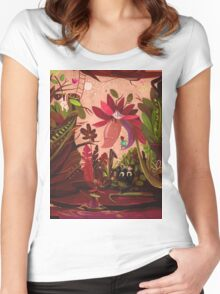 It's a small world Women's Fitted Scoop T-Shirt