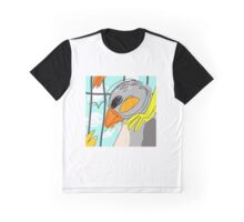 Beaks Track Art Graphic T-Shirt