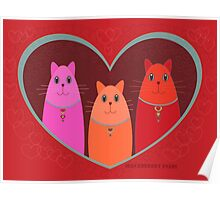 Three Wishes For Valentine's Day Poster