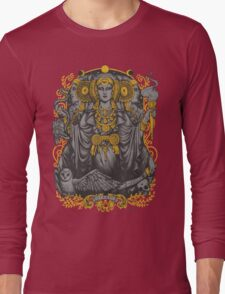 Iberian Hecate Gray Long Sleeve T-Shirt