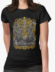 Iberian Hecate Gray Womens Fitted T-Shirt