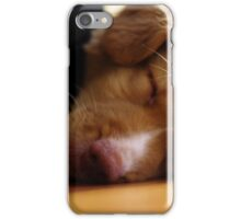 Nap Time Toller iPhone Case/Skin