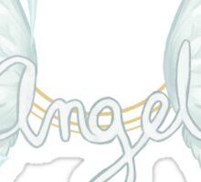 ANGEL TEXT Sticker