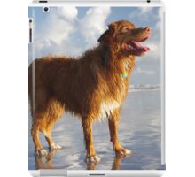Happy Beach Toller iPad Case/Skin