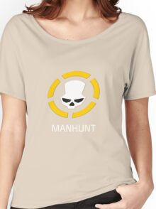 MANHUNT Women's Relaxed Fit T-Shirt
