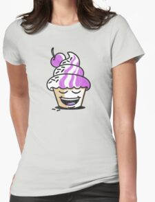 just another cupcake Womens Fitted T-Shirt