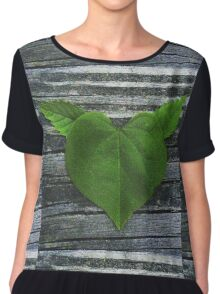 Nature Gives My Heart Wings  Chiffon Top